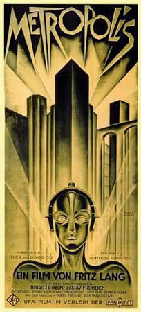 """Metropolis poster """"Design by Heinz Schulz-Neudamm"""""""
